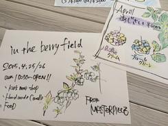 in the berry field(イン ザ ベリー フィールド)お知らせ☆